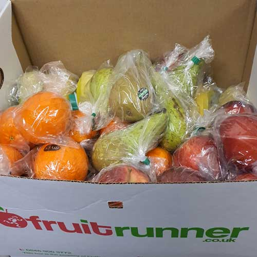 50 Assorted, Individually Wrapped Fruit Box